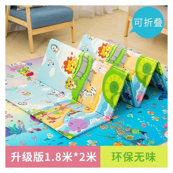 best selling XPE Crawling Pad Baby Game Blanket Thickening Enlarges Children Folding Environmental Protection Safety Kids Play Mats Picnic Rug Wholesale