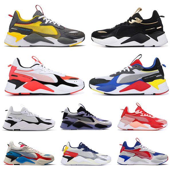 2020 2020 Hot PumaRs X Rs X Reinvention Toys Transformers Men Women Running Shoes FUCHSIA PURPLE Mens Trainers Sports Sneakers 36 45 From
