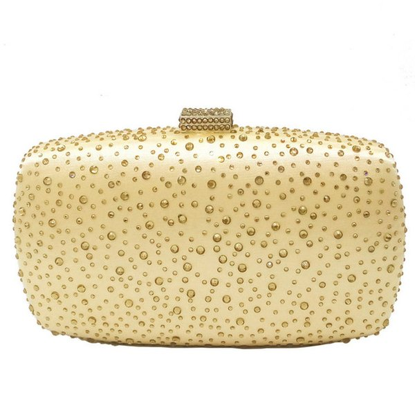 Gold Kristall Tasche