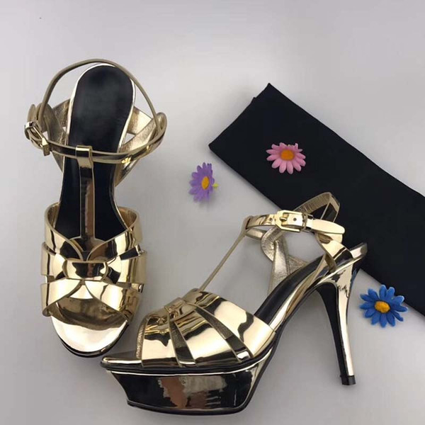 Zapatos de diseño de cuero genuino de buena calidad zapatillas de cuero sandalias de cuero en relieve Zapatos de marca de estilo europeo con cajas