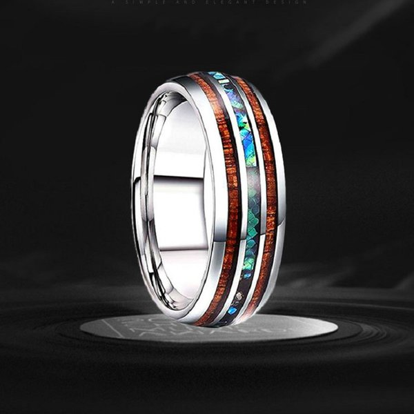 Fashion Titanium Steel Stainless Steel Dragon Rings for men and women Environmental protection tungsten steel ring high-grade jewelry gifts