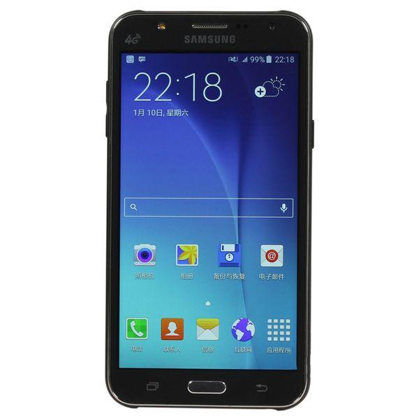 Ré-remis à neuf d'origine Samsung Galaxy J7 J700Fn Octa Core 1,5 Go de RAM 16 Go de ROM 13MP 4G LTE déverrouillé poste de téléphone 1pcs Dual SIM 5,5 pouces LCD Scree