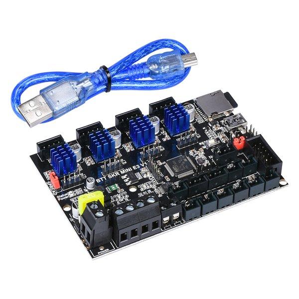 Drucken 3D-Drucker-Teile Zubehör BigTreeTech SKR Mini E3 V1.2 32 Bit Board Integrierter TMC2209 TFT35-E3 V3.0 Touch Screen 3D PR ...