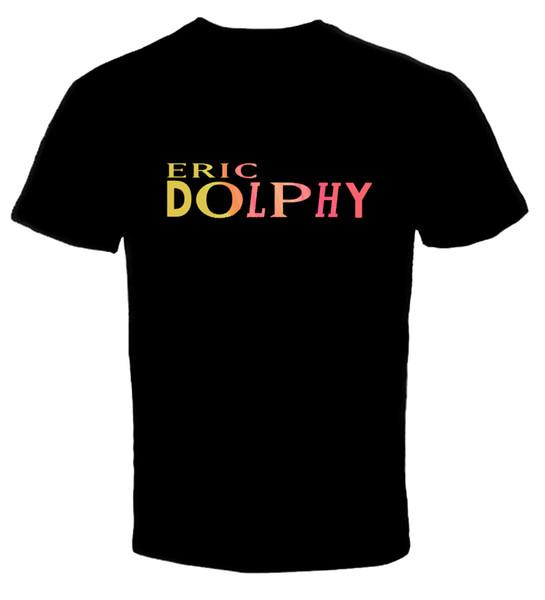 Maglietta unisex di modo delle donne degli uomini della maglietta di Eric Dolphy 3 Trasporto libero