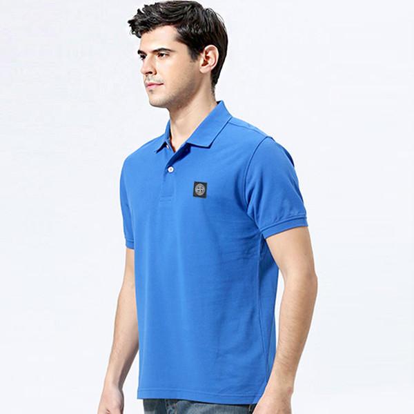 mens T shirts Men's short-sleeved polo tshirt Cotton Custom Made women shirt Fashion Famous T-shirt men shirt