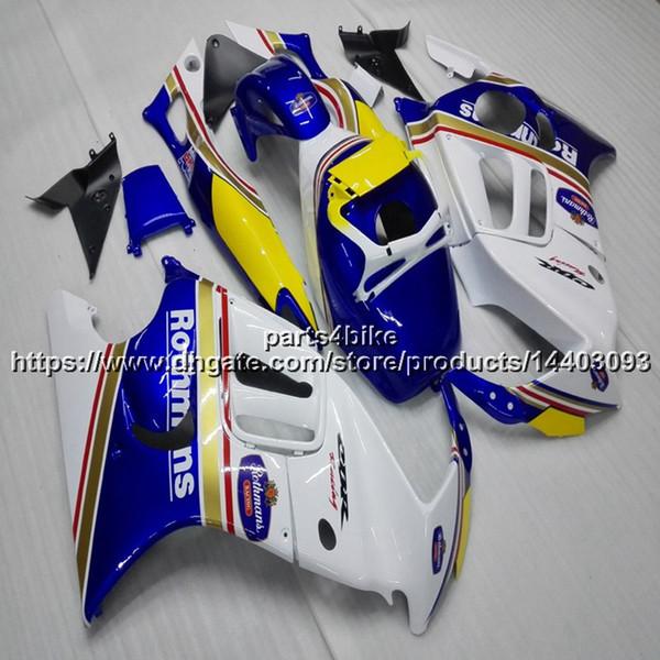 Custom+Screws ABS blue white motorcycle Fairing hull For Honda CBR600F3 1997-1998 CBR600 F3 97 98 CBR 600F3 motorcycle cowl