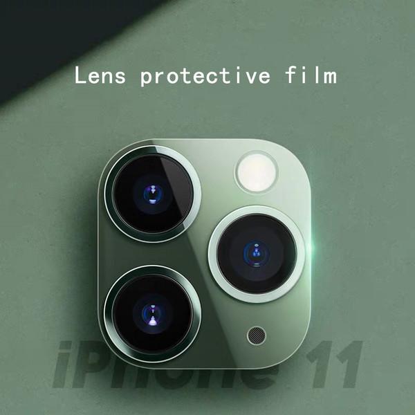 iPhone 11 pro max için iphone 11 mercek koruyucu film 9H sertlik temperli cam filmi için