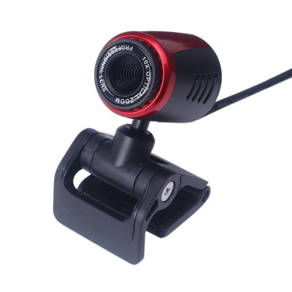 2019 Ecosin NEW Hot Sale USB 2.0 HD Webcam Camera Web Cam With Mic For Computer PC Laptop Desktop #SYS