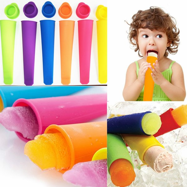 Silicone ice pop maker Push Up Ice Cream Jelly Lolly Pop For Popsicle Silicone ice cream pop mold mould maker tool FFA2189