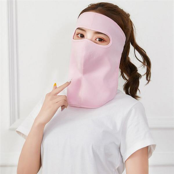 Summer Cyling Face Mask Водительские маски Анти-УФ езда Дышащий анфас Крышка рта Защита от ультрафиолетового излучения Дышащий защитник шеи