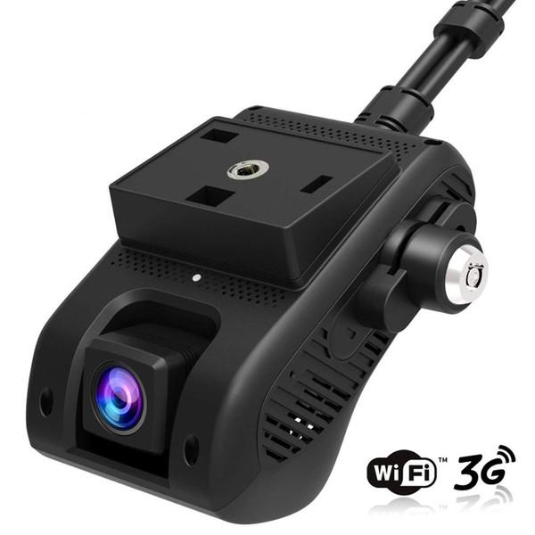 EdgeCam Pro 3G Car DVR Dash Camra Car Camera With HD 1080P Dual Camera GPS Tracker Remote Monitoring Live Streaming