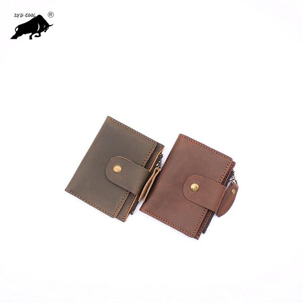 2Colors Genuine Leather Car Key Cover Key Bag Case
