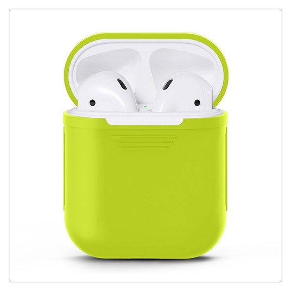 Earbuds Protective Case for Apple Airpods Wireless Bluetooth Headphones Earbuds Earphones with Charging Box Silicone Protective Cover