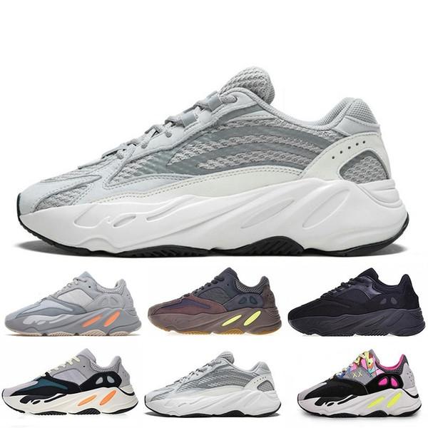 Acheter Adidas Yeezy Boost 700 2019 Kanye 700 Wave Runner Mauve Inertia  Geode Chaussures De Course Hommes Femmes Ouest 700 Créateurs Chaussures  Hommes