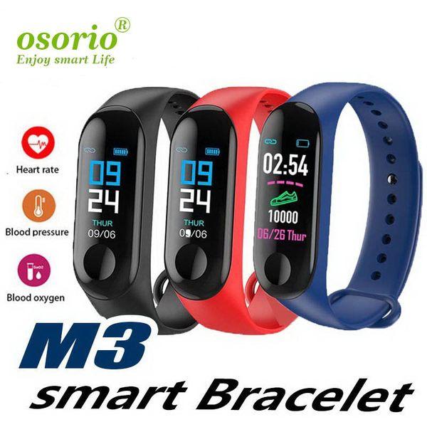 M3 inteligente Relojes SmartWatch con la pantalla táctil LCD para el teléfono móvil inteligente reloj elegante androide de la tarjeta SIM con el paquete al por menor