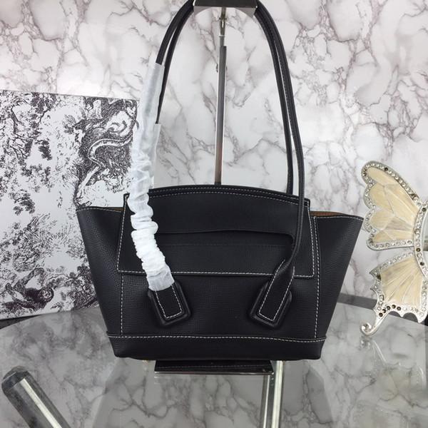 heiße Artdesignermarkenfrauen beiläufige Einkaufstasche Rindlederdesignerhandtaschenfrauen des echten Leders Damenhandtasche großer Käufer