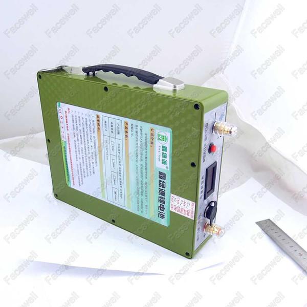 Marque Lithium 12v 100Ah banque d'alimentation 12v batterie de secours de la batterie d'ordinateur portable d'urgence 80A cellules UPS + 5v USB 2A + chargeur rapide 5A