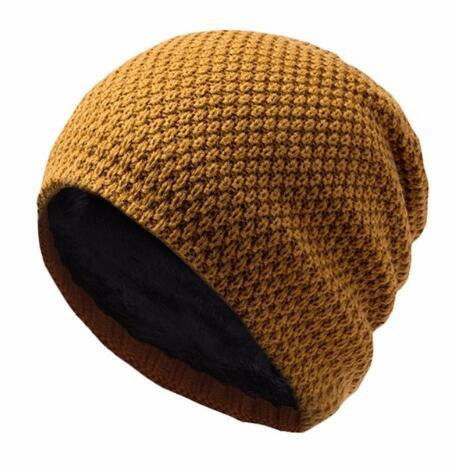 Cycling Knitted Winter Warm Caps Men Women Bike Bicycle Windproof Fleece Hats Ciclismo Running Sport Hat Ear Protection
