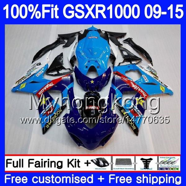 Einspritzung für SUZUKI GSX R1000 K9 GSXR 1000 09 10 11 12 13 15 16 302HM.22 GSXR1000 2009 2010 2011 2012 2014 2015 2016 Keine heiße Verkleidung