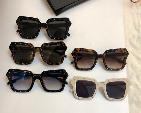 Luxury Womens Brand Designer Sunglasses 0471 Simple Trend style Sun glasses Ladies fashion Female Goggle anti-UV400 Lens Eyewear with box