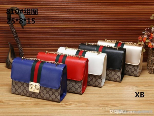 810 XB Best price High Quality women Ladies Single handbag tote Shoulder backpack bag purse wallet