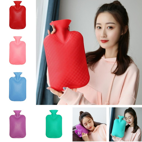 Nueva bolsa de llenado de agua a prueba de explosiones de PVC de alta densidad Bolsa de agua caliente Bolsas calientes Cintura cálida bolso de mano T8I017