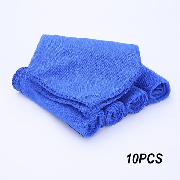 10 Pack Towel Duster Soft Cloths Quick Dry Cleaning Auto Car Microfiber 30*30CM Absorbent Wash Towel