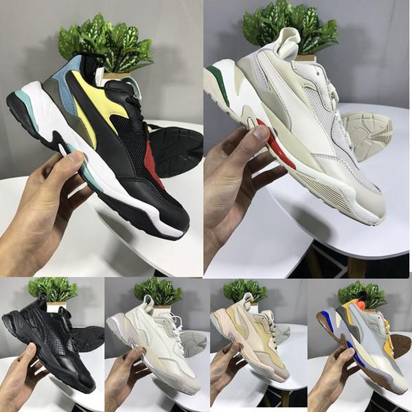Puma Thunder Spectra 2018 Yeni Thunder Spectra Tasarımcı Moda Baba Koşu Ayakkabıları için Yüksek kalite Erkekler Kadınlar Klasik Lüks Sneakers B ...