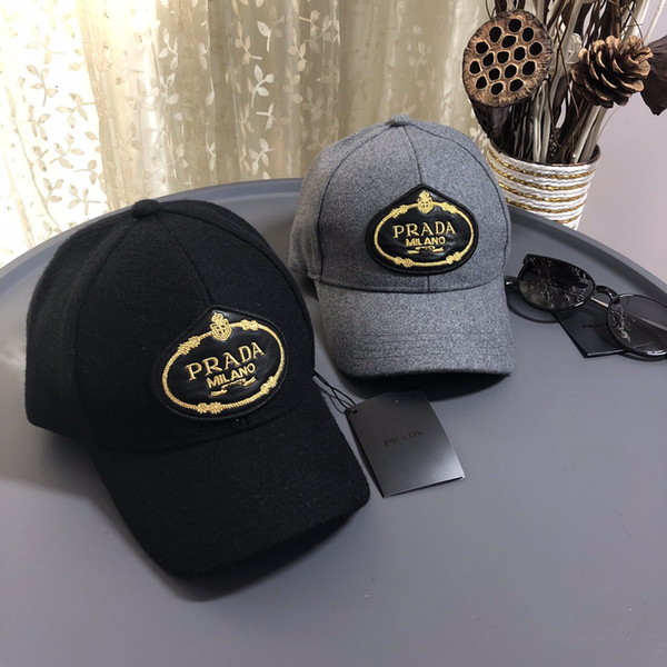 panno caldo di lusso di lana papà Cappelli Berretto da baseball per gli uomini e donne famose plaid del cotone del cappello di alta qualità teschio Sport Golf curvo regolabile