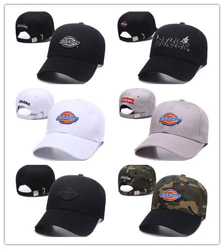 Wholesale Women Men Brand Casual Hat Luxury Embroidery Hat Pop Dickies  Baseball Cap Best Quality Cotton Trucker Cap Durable Ball Cap Baby Caps 47