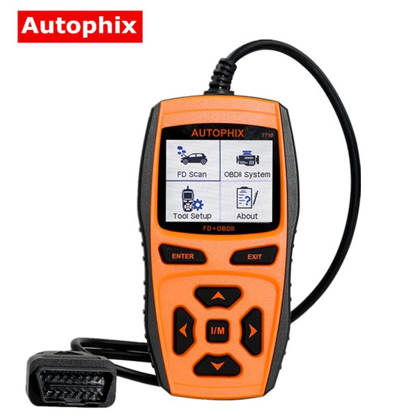 AUTOPHIX 7710 Professional OBDII Diagnostic Scanner for Ford Supporting Multilanguage