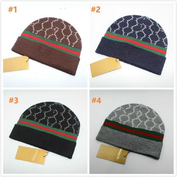 Os mais recentes Hot venda Moda clássico de alta qualidade G estilos chapéu de malha chapéus homens e mulheres no inverno Beanie por amazzz