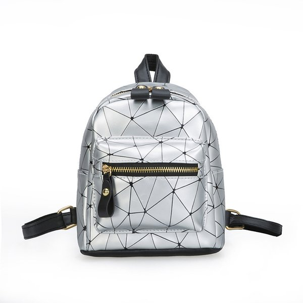 2019 New Mini Travel Backpack Women Pu Leather Female Small Bagpack Shoulder Bag For Girl Student Schoolbags Mochila Mujer Purse