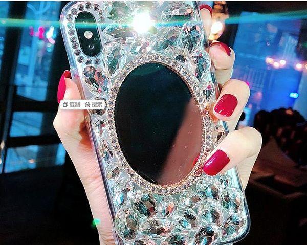 Водяная дрель для макияжа Зеркало для телефона Apple 7plus Shell для женщин iPhoneX max New 8p / 6 Luxury Fashion
