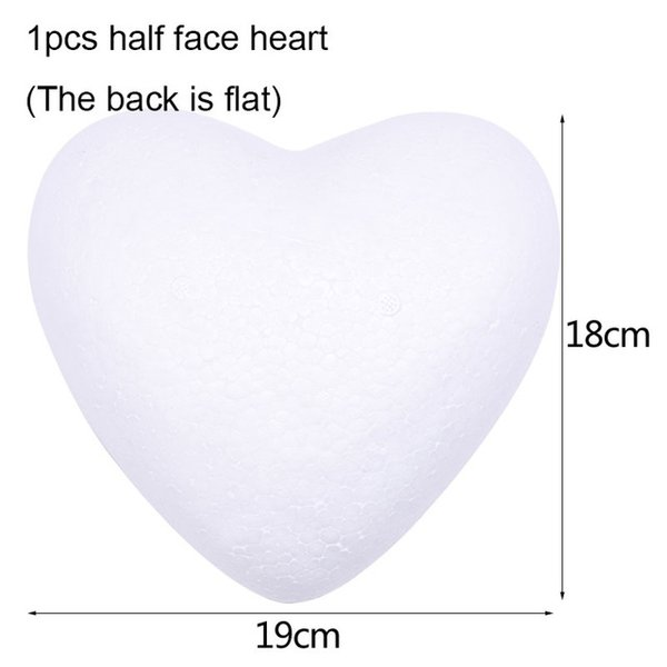 Yarım kalp B07-1pcs