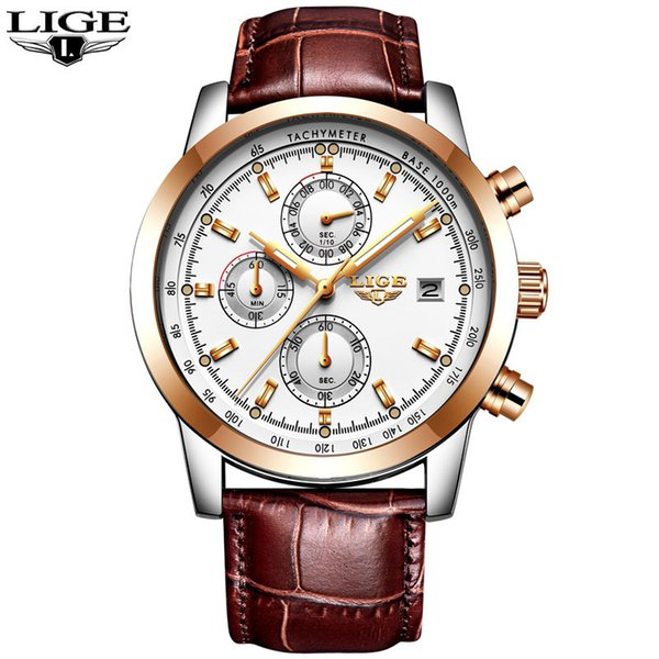 L rose gold white