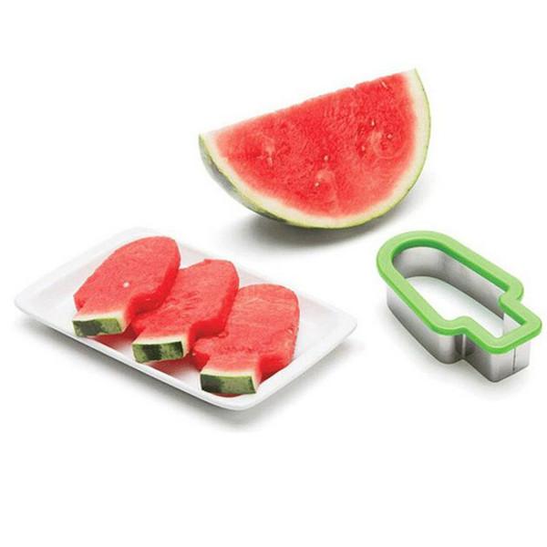 Berühmt Großhandel Edelstahl Wassermelone Slicer Eis Eis Am Stiel Form @EY_48