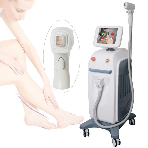 Painless Diode Laser Hair Removal Machine For Women Permanent Hair