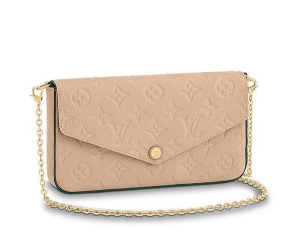 Pochette Félicie M62299 New Women Fashion Shows Shoulder Bags Totes Handbags Top Handles Cross Body Messenger Bags
