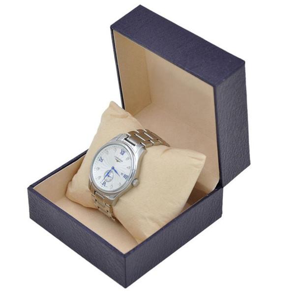 Nuova scatola di regalo di vetrina di orologio di lusso per scatola di orologio in pelle per orologio titolare di stoccaggio di gioielli alla ricerca di grossisti
