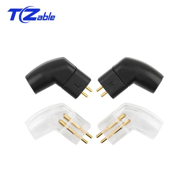 Audio Jack Headset Plug Splice HiFi Earphone Pins 0.75mm Black For UE TF10 UE TF15 5PRO F3 Cable Solder Wire Connector