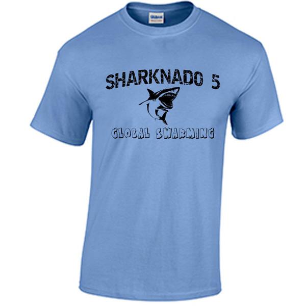 Köpekbalığı T Shirt Sharknado 5 Fan Inspired Köpekbalığı T-Shirt Shark Fan Tee Komik ücretsiz kargo Unisex Rahat