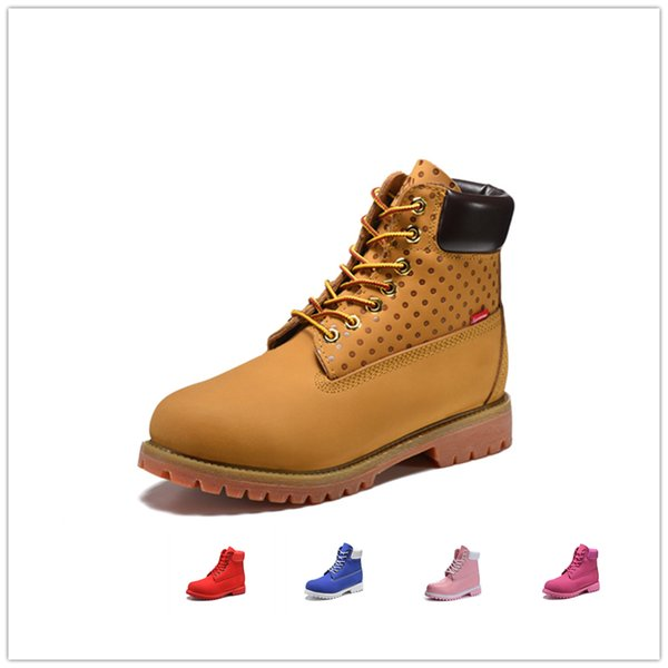 Original mens women winter boots chestnut black yellow white red blue Grey green womens men designer boot size 5.5-11 fast shipping AK