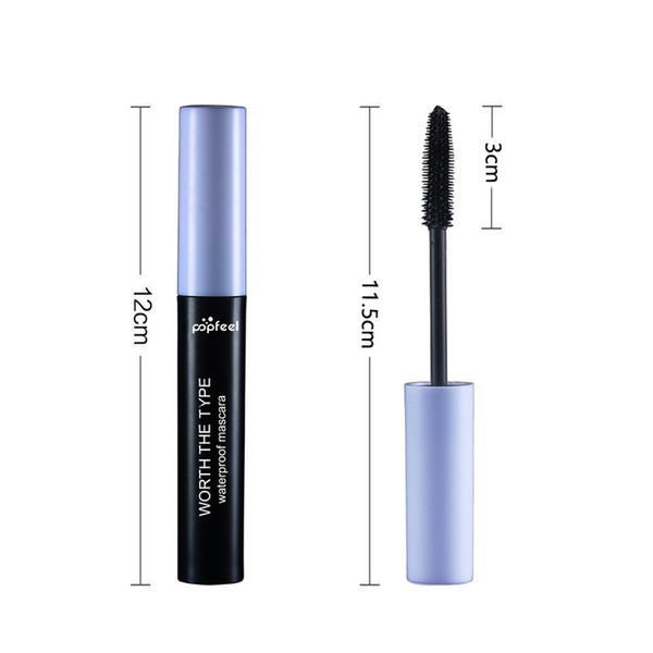DHL Free Private Label Mascara 3D Fiber Lashes Thick Lengthening Waterproof Super Long Black Lash Eyelash Extension Eye Lashes Cosmetics