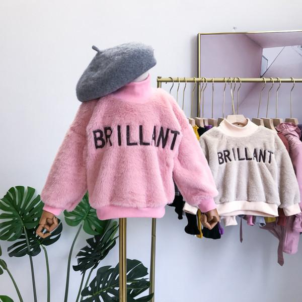 2019 New boys Winter Ite Girl Fleece Warm Top Two Colors frozen girls hooded denim jacket kids coat leggings SPIDERMAN Anna jackets
