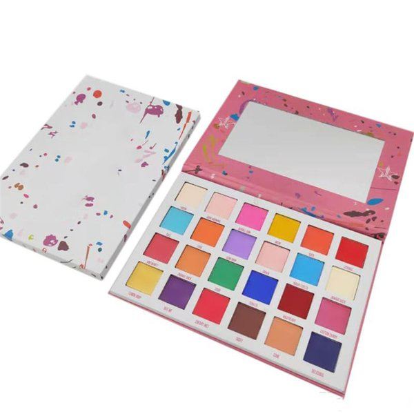 In tock makeup palette 24 color eye hadow pre ed pigment palette breaker co metic palette dhl hipping