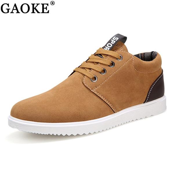 2018 Men's Shoes Spring And Autumn Men 's Casual Shoes Leisure Winter Plush For Men Plus Brish Fashion Trend #332389