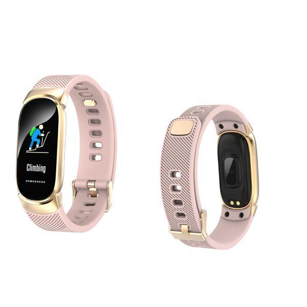 696 QW16 montre intelligente de l'activité physique Fitness Tracker fréquence cardiaque montre intelligente Relogio Android SmartWatch téléphone