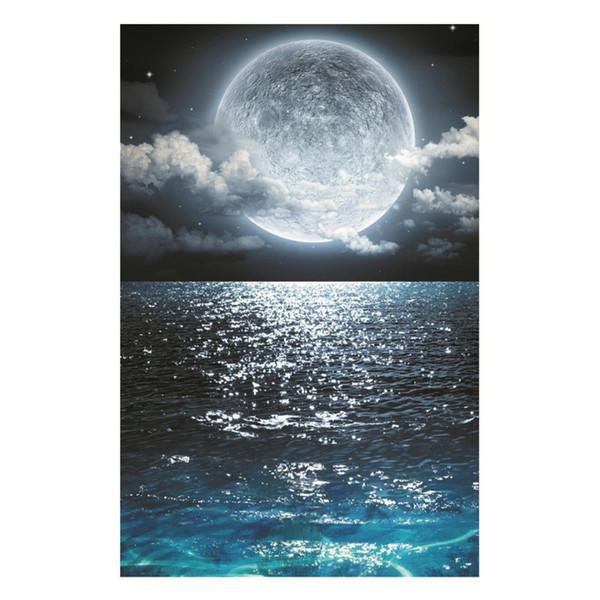 Mar luminosa diy 3d adesivo de parede glow in the dark home decor crianças sala de estar quarto decalque