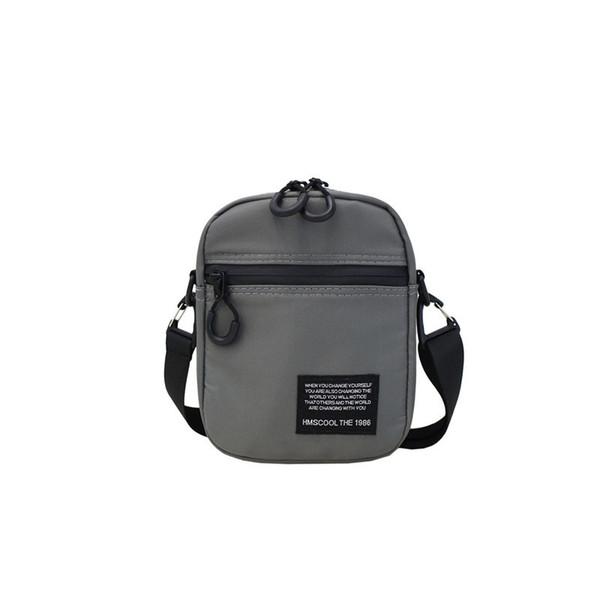 e senhora Multi-Cor selecionável normal de um ombro Bag Men Dacron por letras pano Tide Cool telefone móvel Bag